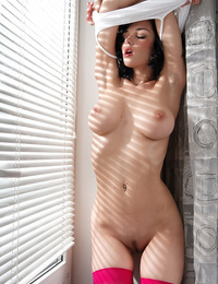 Big sumptuous breasts and creamy sweet skin will make you hungry for Jenya. - Jenya D - Charismatic